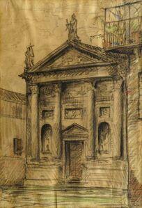 George Lukomski, 'Church in Vincenza'
