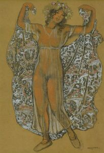 Georges Manzana-Pissarro, 'Oriental Dancer', ca. 1910