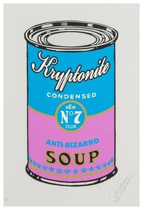 The Meme Machine, 'Kryptonite Soup Cans (four works)', 2011