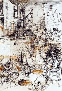 Charles Cullen, 'Nightgown Improvisations II', 2004