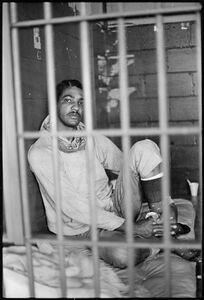 Keith Calhoun, 'Glen Demourelle, Main Prison, Lockdown', 1981