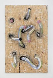 Seth Price, 'Chrome Pencils', 2020