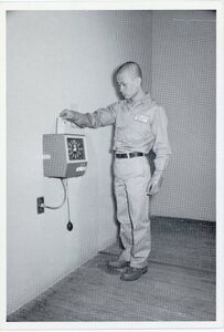 Tehching Hsieh, 'Sam Hsieh, One Year Performance: Time Clock, Card', 1980