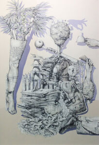 Jae Hoon Lee (b. 1973), 'Artificial Subtle approaches', 2015