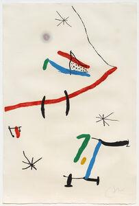 Joan Miró, 'Barcelona, Plate 12 (Dupin 603)', 1973