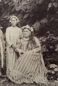 Charles Georges Spitz, 'Jeunes Tahitiennes'
