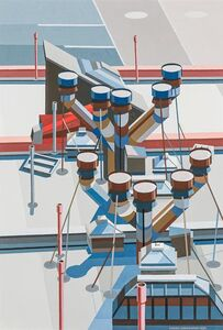 Edmund Lewandowski, 'Rooftops', 1994