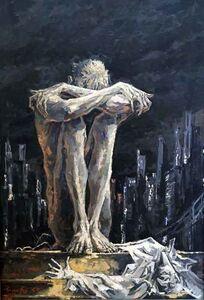 Sergei Chepik, 'New York', 1993