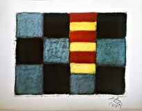 Sean Scully Munich 1996 (Hand Signed and dated by Sean Scully)
