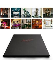 Paloma Picasso, Portfolio of 10 matted  pigment prints in an embossed box