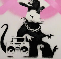 Banksy, 'Gangsta Rat', 2006