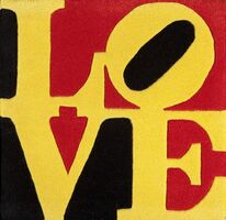 Robert Indiana, 'Liebe Love', 2005