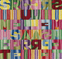 Alighiero Boetti, 'Simmetrie speculari', ca. 1992