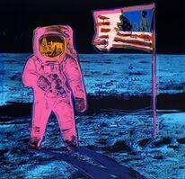 Andy Warhol, 'Moonwalk, Pink (Feldman & Schellmann II.405)', 2020