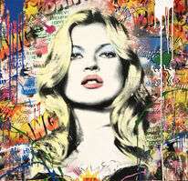 Mr. Brainwash, 'Kate Moss', 2019