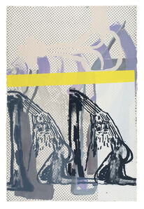 Amy Sillman, 'Dub Stamp (2B)', 2019