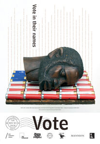 Nick Cave, 'Illinois Get Out The Vote Poster by Bob Faust & Nick Cave', 2020