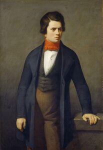 Jean-François Millet, 'Leconte de Lisle', ca. 1840/1841