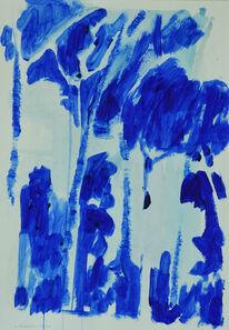 Laura Federici, 'Ultramarine blue 14', 2020