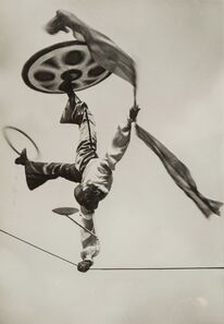 Sasha Stone, 'Man with One Arm on High Wire', 1934