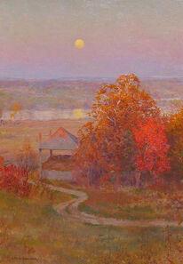 Walter Launt Palmer, 'Autumn Moonrise', ca. 1910