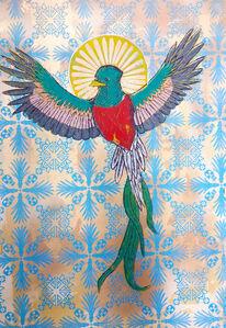 Roberto Torres Mata, 'Santo Quetzal', 2018