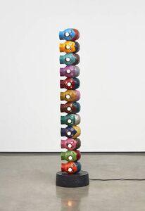 Evan Holloway, 'Serial Form with Light Bulbs', 2019