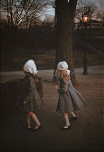 Louis Stettner, 'Two Girls in Park', 1956