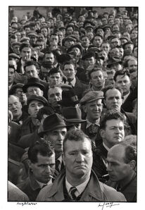 Marc Riboud, 'Docker's strike in London.', 1954