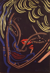 Francis Picabia, 'Têtes superposées (Superimposed Heads)', 1938