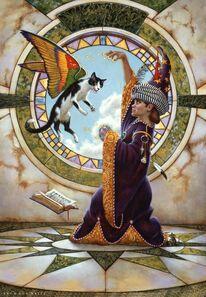 Don Maitz, 'Abracatabra', 1994