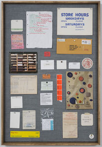Christine Hill, 'Musterbrett (Sample Board) No. 1', 2012