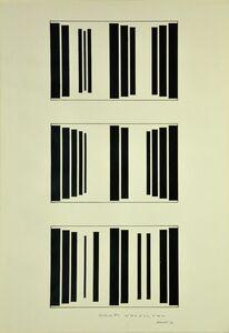 Waldo Balart, 'Mutación #7, del 39:8, al 2:17, al 38:25', 1981