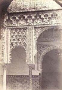 Charles Clifford, 'Alcazar Real, Patio de la Munecas, Spain', 1862/1862c