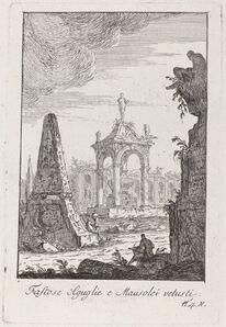 Giovanni Francesco Costa, 'Fastose Aguglie e Mausolei vetusti', published 1767/1770