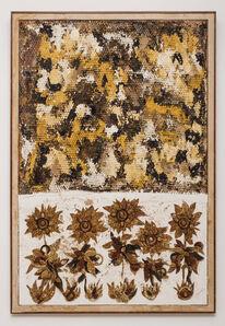 Ugo Schildge, 'Beehive and Sunflowers', 2018