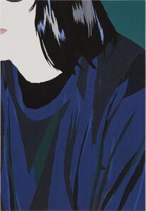 Andrea Carpita, 'Portrait with blue sweater', 2019