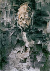 Pablo Picasso, 'Portrait of Art Dealer Ambroise Vollard (1867-1939)', Spring 1910