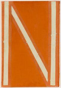 Pino Pascali, 'Dalla serie Lettere (N)', 1964