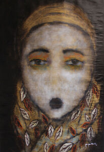 Georges Bassil, 'Feather Scarf', 2019