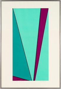 Olle Baertling, 'XAU', 1967