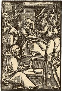 Hans Schäufelein the Elder, 'The Death of the Virgin', ca. 1512