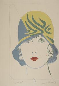 Giosetta Fioroni, 'Cappello', 1969