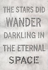 Carl Trahan, 'Darkling in the Eternal Space', 2018