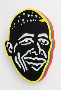 Beverly Fishman, 'Black and White Obama (Ecstasy)', 2013