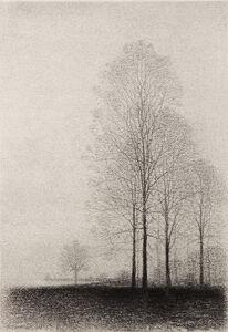 Gunnar Norrman, 'Tradgrupp (Group of Trees)'