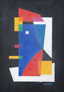 Atanasio Soldati, 'Composizione', 1950-1951