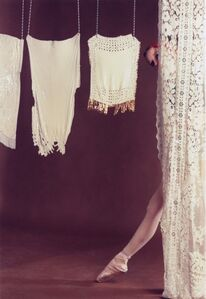 Rose English, 'Study for A Divertissement: Diana and Porcelain Lace Veil', 1973/2013