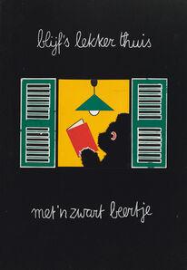 Dick Bruna, 'Poster Zwarte Beertjes', 1963