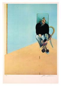 Francis Bacon, 'Study for Self Portrait, 1982', 1984